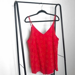 NWT Beach Riot Red Ray Star Embellished Romper